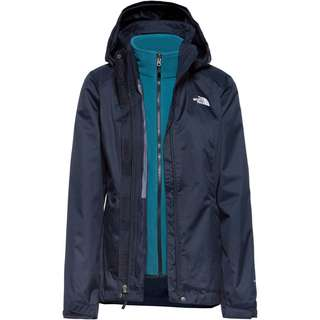 The North Face EVOLVE II TRICLIMATE Doppeljacke Damen URBAN NAVY/MALLARD BLUE
