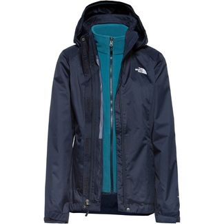The North Face EVOLVE II TRICLIMATE® Doppeljacke Damen URBAN NAVY/MALLARD BLUE
