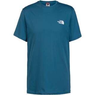 The North Face Simple Dome T-Shirt Herren MALLARD BLUE