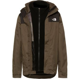 The North Face Evolve II Triclimate® Doppeljacke Herren NEW TAUPE GREEN/TNF BLACK