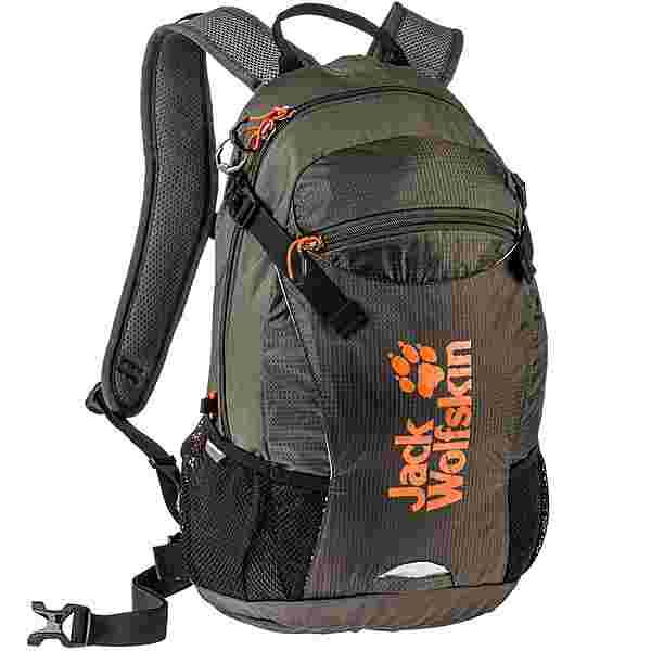 Jack Wolfskin Rucksack Velocity 12 Daypack brownstone