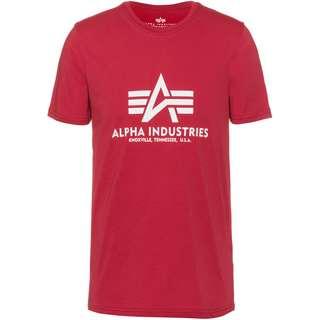 Alpha Industries T-Shirt Herren RBF red