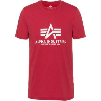 Alpha Industries T-Shirt Herren RBF red