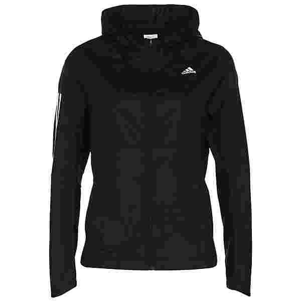 adidas OWN THE RUNNING RESPONSE Laufjacke Damen black