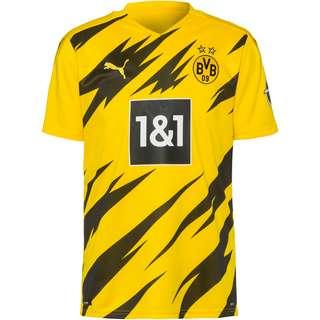 PUMA Borussia Dortmund 20-21 Heim Trikot Herren cyber yellow-puma black