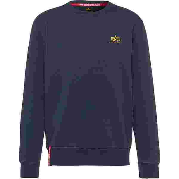 Alpha Industries Sweatshirt Herren new navy