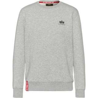 Alpha Industries Sweatshirt Herren grey heather
