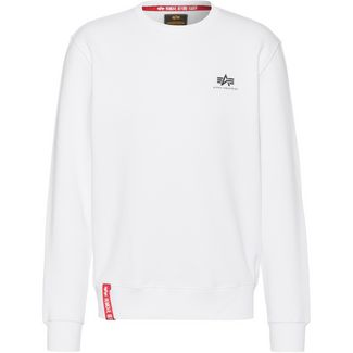 Alpha Industries Sweatshirt Herren white