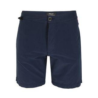 REPLAY mit Eingrifftaschen Badeshorts Herren night blue