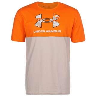 Under Armour Camo T-Shirt Herren vibe orange-highland buff