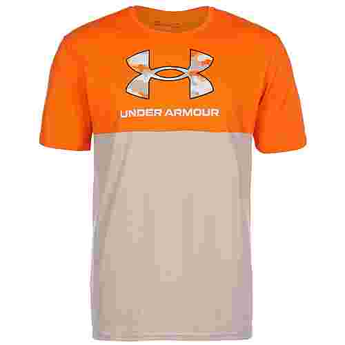 Under Armour Camo T-Shirt Herren vibe orange-highland buff