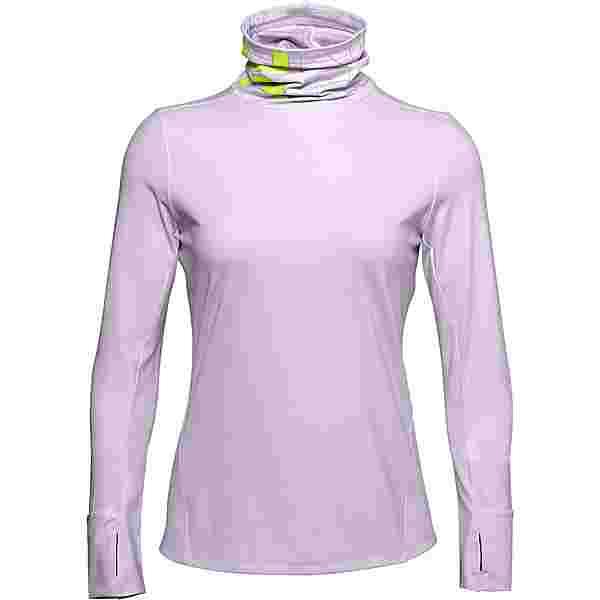 Under Armour ColdGear Funktionsshirt Damen purple