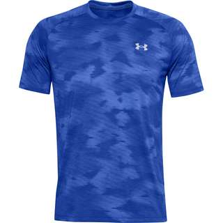 Under Armour Streaker Funktionsshirt Herren emotion blue-black-reflective