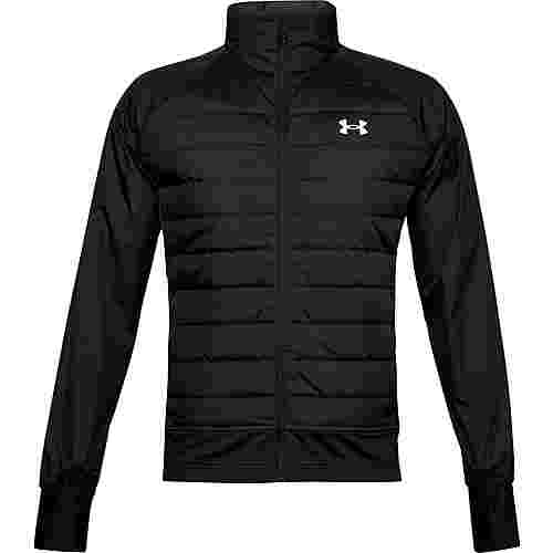 Under Armour Insulate Hybrid Laufjacke Herren black-black-reflective