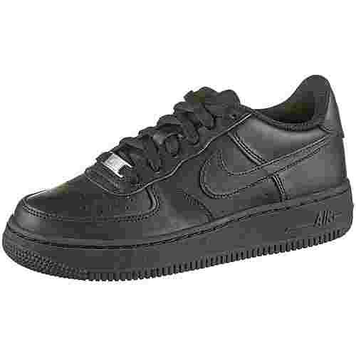 Nike Air Force 1 Sneaker Kinder black-black-black
