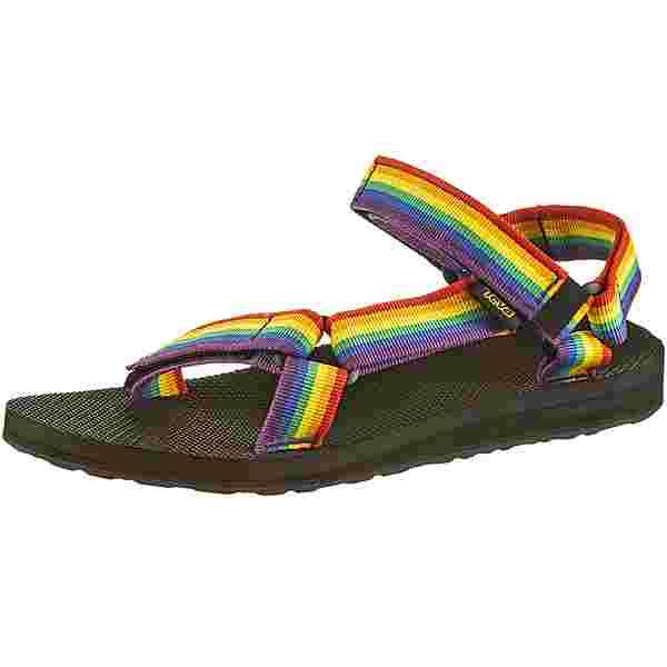 Teva Original Universal Sandalen Damen rainbow-black