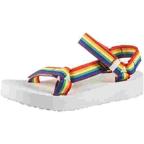 Teva Midform Universal Sandalen Damen rainbow-white