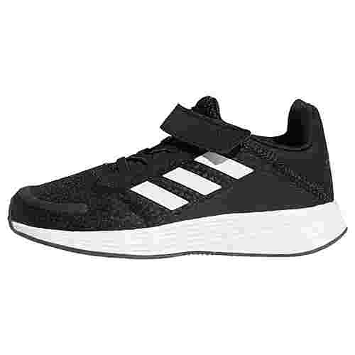 adidas Duramo SL Laufschuh Laufschuhe Kinder Core Black / Cloud White / Grey Six