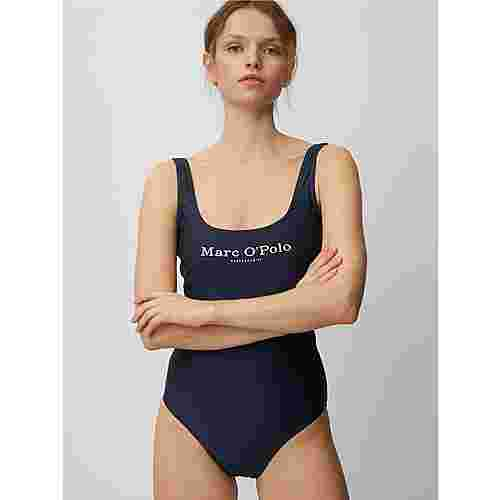 Marc O'Polo Badeanzug Solids Badeanzug Damen blauschwarz