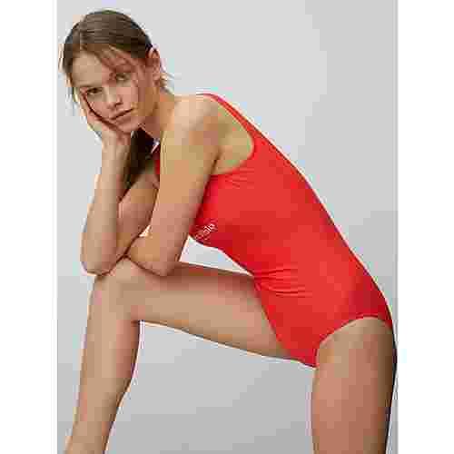 Marc O'Polo Badeanzug Solids Badeanzug Damen rot