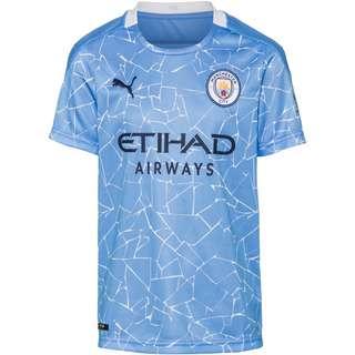 PUMA Manchester City 20-21 Heim Trikot Kinder team light blue-peacoat