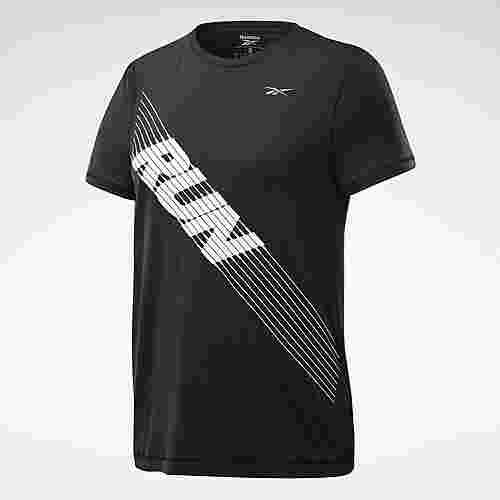 Reebok Run ACTIVCHILL T-Shirt Funktionsshirt Damen Schwarz