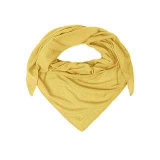 Zwillingsherz Dreieckstuch Uni Tuch Damen gelb