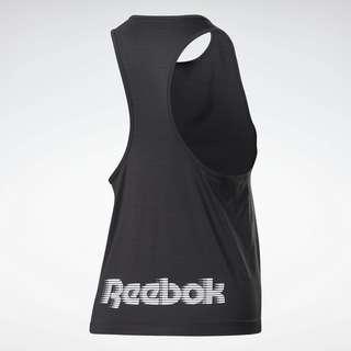 Reebok Run ACTIVCHILL Tanktop Funktionstop Damen Schwarz