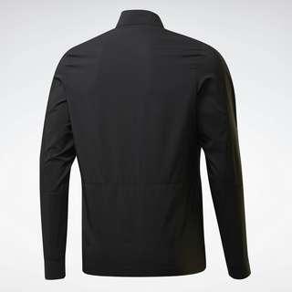 Reebok Running Essentials Woven Wind Jacket Laufjacke Herren Schwarz