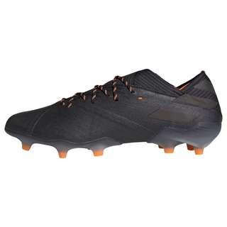 adidas Nemeziz 19.1 FG Fußballschuh Fußballschuhe Herren Core Black / Core Black / Signal Orange