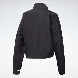 Reebok Running Essentials Wind Jacket Trainingsjacke Damen Schwarz