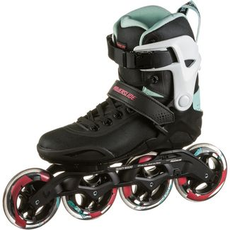 POWERSLIDE Radon Teal 90 Fitness Skates Damen black