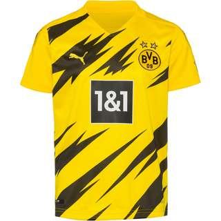 PUMA Borussia Dortmund 20-21 Heim Trikot Kinder cyber yellow-puma black