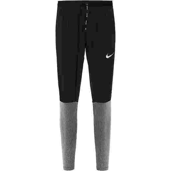 Nike Phenom Laufhose Herren black-reflective silv