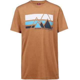 OCK T-Shirt Herren zimt