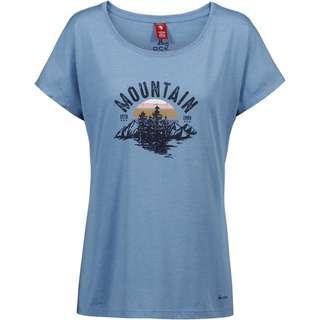 OCK T-Shirt Damen taubenblau
