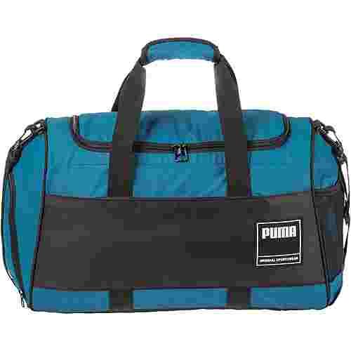 PUMA GYM Duffle M Sporttasche digi-blue-puma black
