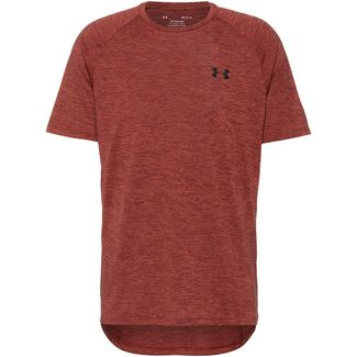 Under Armour Tech 2.0 Funktionsshirt Herren cinna red-black