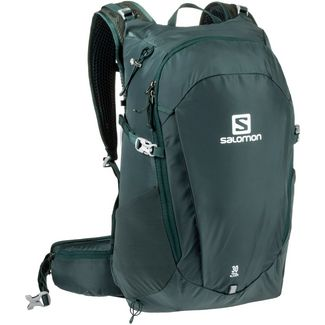 Salomon TRAILBLAZER 30 Trinkrucksack green gables