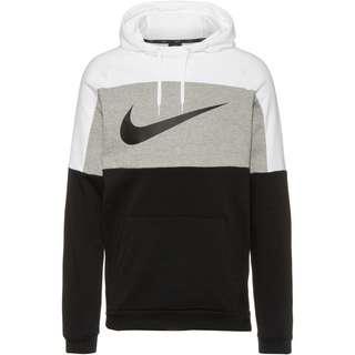 Nike Dri-FIT Hoodie Herren white-dk grey heather-black-black