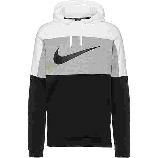 Nike Dri-FIT Hoodie Herren white-dk grey heather-black-black