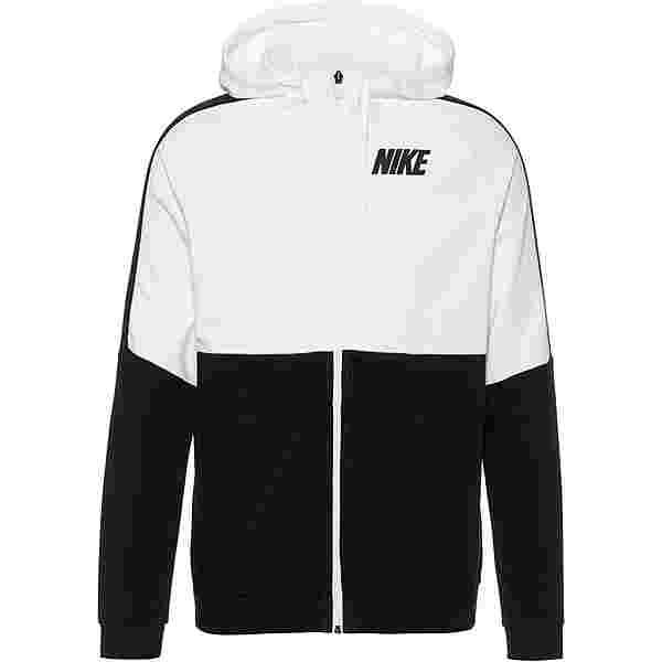 Nike DRY HD Sweatjacke Herren white-black-black