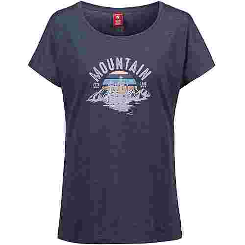 OCK T-Shirt Damen navy