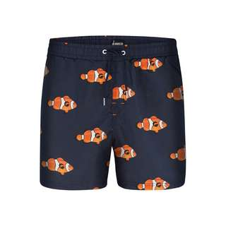 HAPPY SHORTS Badeshorts Motive Badeshorts Herren Fish