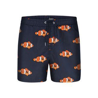 HAPPY SHORTS Badeshorts Motive Badeshorts Herren Fish