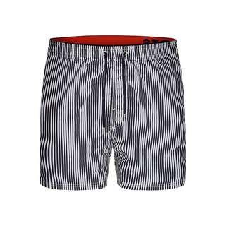 HAPPY SHORTS Badeshorts Elastic Waistband Badeshorts Herren Stripes