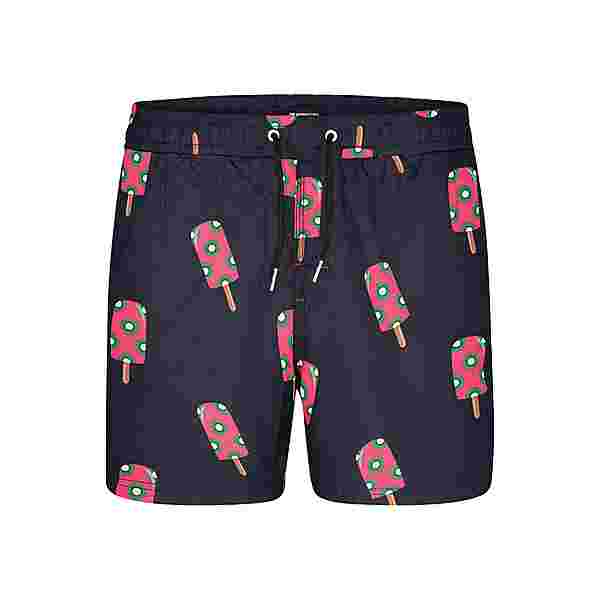 HAPPY SHORTS Badeshorts Motive Badeshorts Herren Popsicles