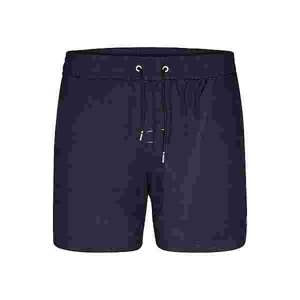 HAPPY SHORTS Badeshorts Simple Badeshorts Herren Navy