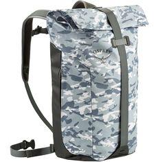 Osprey Rucksack Transporter Roll Daypack Camo Slate Grey
