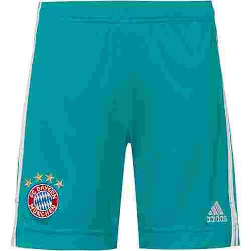 adidas FC Bayern 20/21 Torwarthose Kinder lab green